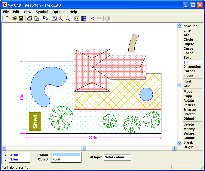 FlexiCAD 2 screen shot